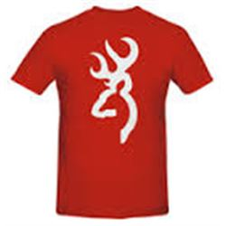 MEN'S T-SHIRT WITH BUCK MARK LOGO