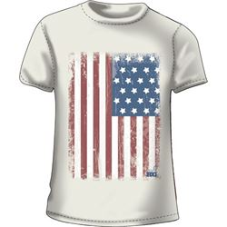 "WOMEN'S T-SHIRT ""GRAND 'OL FLAG"""