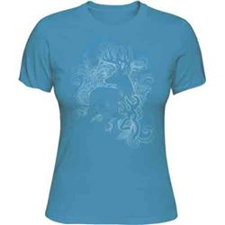 "WOMEN'S T-SHIRT ""VICTORIAN DEER"""
