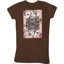 "WOMEN'S T-SHIRT ""QUEEN OF HEARTS"""