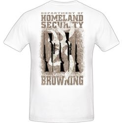 "MEN'S T-SHIRT ""HOMELAND SECURITY"""