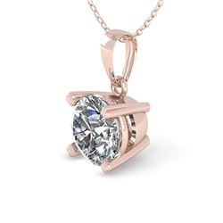 0.50 CTW VS/SI Diamond Designer Necklace 18K Rose Gold - REF-92F4M - 32339