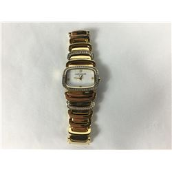 Michael Hill Ladies Gilt Stainless Steel Wrist Watch