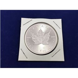 2015 1oz Silver Maple Coin - Brilliant Uncirculated