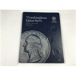 Whitman Folder of Washington Quarters 1948-1964 Inc. Coins