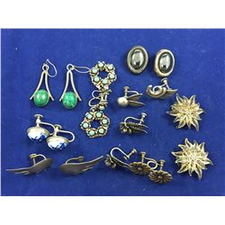 Group of Vintage Sterling Silver Jewellery
