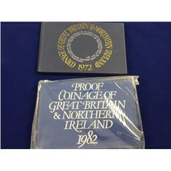 Two Uncirculated Coin Sets Great Britain & Northern Ireland
