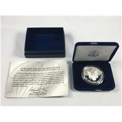2008 American Eagle One Ounce Silver Proof Coin (Westpoint)