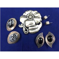 Group of Sterling Silver Jewellery