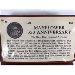 1620-1970 Mayflower 350th Anniversary Limited Edition 35/683 Coin Set