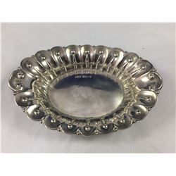 1904 Sterling Silver Bon Bon Dish - 120mm Length - Weight 32.50 Grams