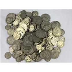 1 Kilogram Silver NZ & English Coins Total Coin Weight