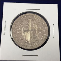 1928 George V British Silver Half Crown (AU)