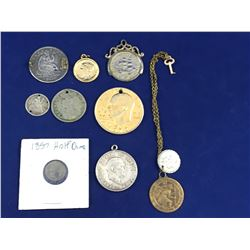 Group of Old Ex Jewellery Mounted Coins