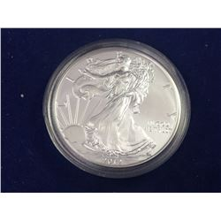 2012 USA 1oz Fine Silver American Eagle Coin - Brilliant Uncirculated