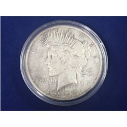 1922 US Silver Peace Dollar