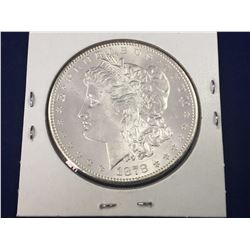 1878-S US Morgan Silver Dollar Coin - Brilliant Uncirculated