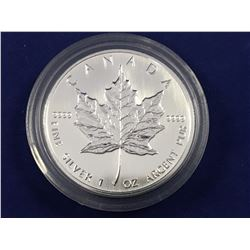 1999 Canada 1oz Silver Maple .999% Fine Silver Round Five Dollar Coin