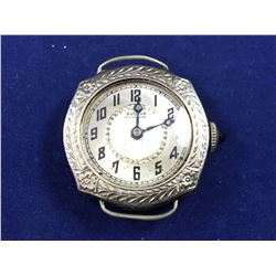 1918 Ladies Bulova Finely Engraved Wristwatch (A/F)
