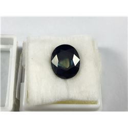 7ct Natural Clear Heart Blue Sapphire Stone