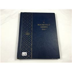 Deluxe Album of Rossevelt Silver Dimes - Total 49 Coins