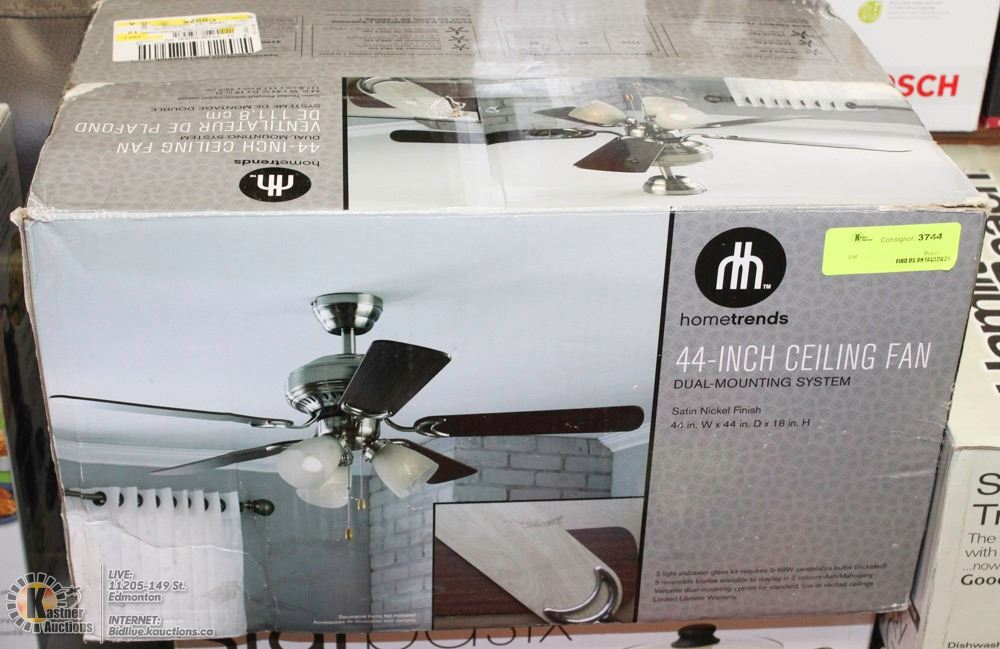 New hometrends 44 inch ceiling fan dual mount image 1 new hometrends 44 inch ceiling fan dual mount aloadofball Images