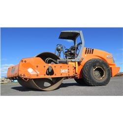 2008 Hamm 3412 Vibratory Smooth Drum Roller, 977 Hours