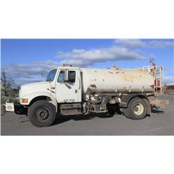1991 International 4900 Water Tanker Truck, Lic. 814TVF. Purchased used Aug 2014 for $30K