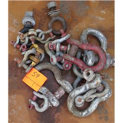 Misc. Shackles - Various Sizes