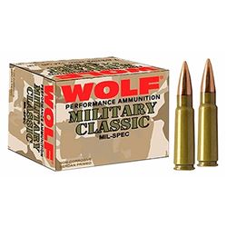 Wolf Military Classic 308/7.62 - 500 Rds