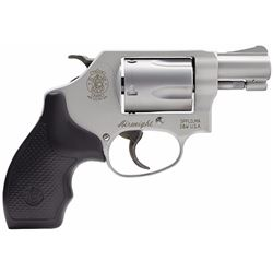 "Smith & Wesson 163050 637 Airweight Single/Double 38 Special 1.875"" 5 Black Synthetic Stainless"