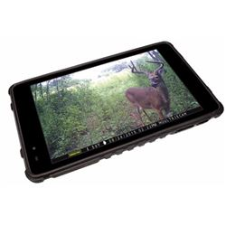 """Moultrie MCA13052 Tablet Photo Viewer 7"""" Touch Screen Rechargeable"""