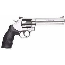 "Smith & Wesson 164198 686 Plus Distinguished Combat Single/Double 357 Magnum 6"" 7 Black Synthetic St"