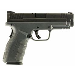 "Springfield Armory XDG9101Y XD Mod.2 Service Double 9mm 4"" 10+1 Gray Polymer Grip Black Melonite"