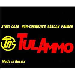Tulammo 7.62X39mm 122GR FMJ 640 Rounds