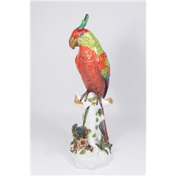 German Porcelain Parrot