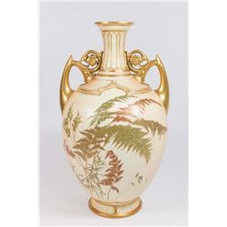 Double-Handled Royal Worcester Vase