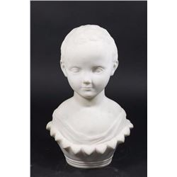:Marble Sculpture of Young Boy