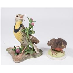 2 Boehm Porcelain Birds