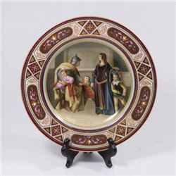 :Royal Vienna Hand Painted Plate