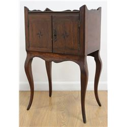 Antique Country French 2-Drawer Commode