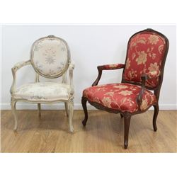 2 French Style Chairs