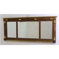 3-Section Giltwood Mirror
