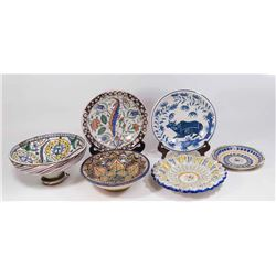 Lot of Persian Pottery