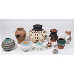 10 Modern Indian & Mexican Pottery Pieces