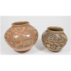 Lot 2 Mata Ortiz, Mexico Vases