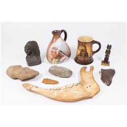 Lot 9 Indian-Related Artifacts
