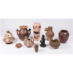 Lot 10 Mexican Vessels