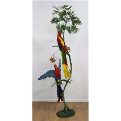 Birds of Paradise on a Tree