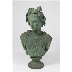 F. Barbedienne Bronze Sculpture of a Lady